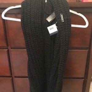 Coach black infinity scarf